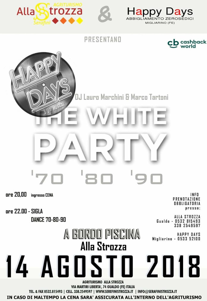 white party ferragosto strozza